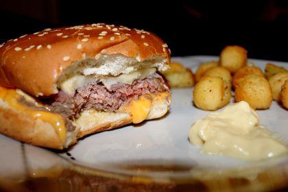 Raclette Burger Maison