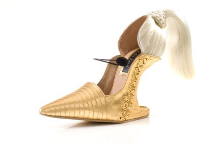 New shoe called Blond Ambition designed by Kobi Levi