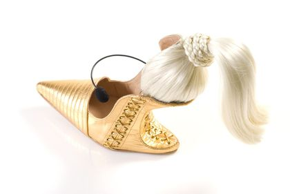 New shoe called 'Blond Ambition' designed by Kobi Levi