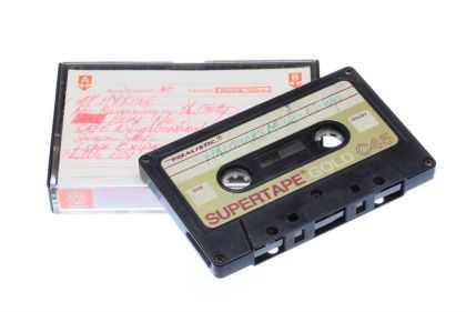 Madonna's original demo tape on auctions in New York on Nov. 21, 2009