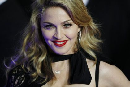 Madonna at UK premiere of ''W.E.'' in London - January 11, 2012