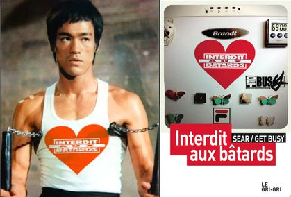 Bruce Lee Interdit aux bâtards Gri Gri International