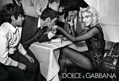 Another new Madonna's ad for Dolce & Gabbana AW 2010/11 campaign