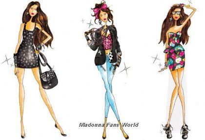 Madonna's 'Material Girl' Collection at Macy&#x2019;s: First sketches