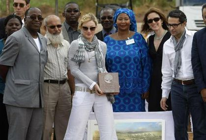 Madonna pulls out of $14 million Malawi school project