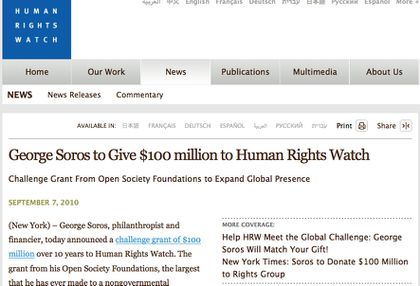 Human Rights Watch Soros & Ouattara 4 www.legrigriinternational.com