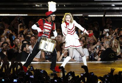 Madonna - MDNA Tour: Press photos from the show in Tel Aviv, Israel - May 31, 2012