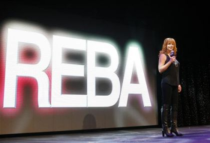 Reba McEntire at Norwegian Epic, Norwegian Cruise Line's new ship