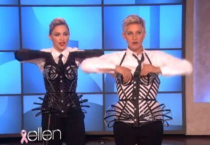 Madonna at 'The Ellen Show' on October 29, 2012: More Previews + Teaser