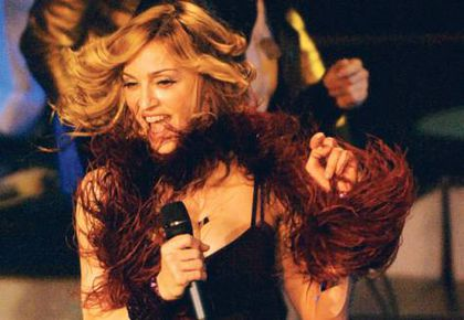 Madonna's been called ''Oldfrapp'' for imitating Goldfrapp