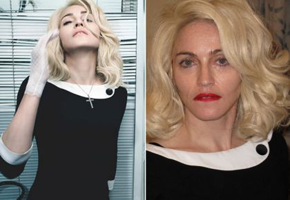 Photos: Madonna outtakes on internet