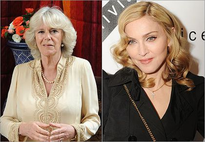 Camilla Parker Bowles and Madonna are related