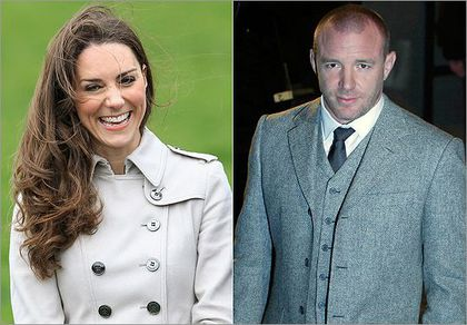 Kate Middleton and Guy Ritchie are related