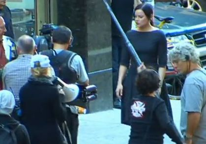 Video: Madonna Directing ''W.E.'' in NY - September 15, 2010