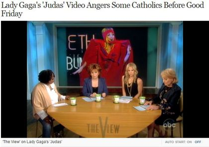 'Judas' controversy: Lady Gaga in the footsteps of Madonna