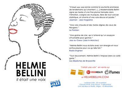 Helmie Bellini Flyer mars 2012