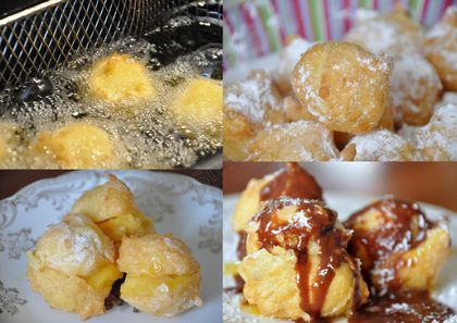 pet de nonne profiteroles