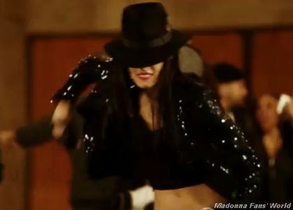 Madonna's dancer Sofia Boutella stars in new Michael Jackson's video ''Hollywood Tonight''