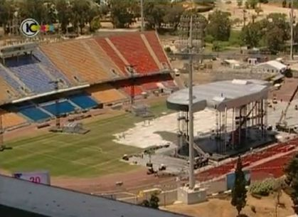 Madonna - MDNA Tour: Stage and Backstage in Tel Aviv, Israel