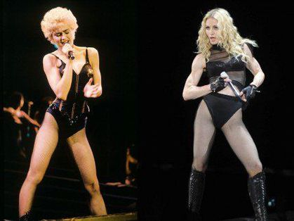 Madonna: Who's That Girl Tour vs Sticky and Sweet Tour