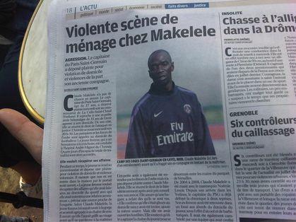 Makelele PSG 100 commentaires Karim Boukercha www.legrigriinternational.com