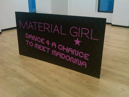 Photos: Madonna Dance Audition for Material Girl - NY, August 26, 2010