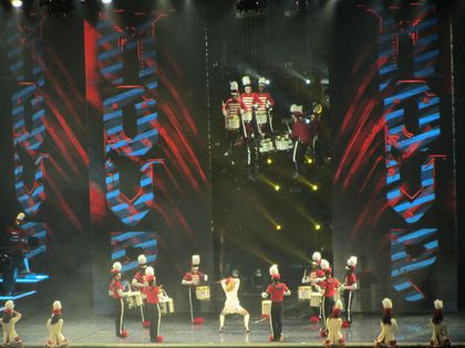 Madonna - MDNA Tour: Up in the air