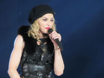 Madonna - MDNA Tour: Fans pictures from the show in Gothenburg, Sweden - July 04, 2012