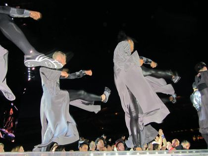Madonna - MDNA Tour: Dancers at the show in Gothenburg, Sweden - July 04, 2012