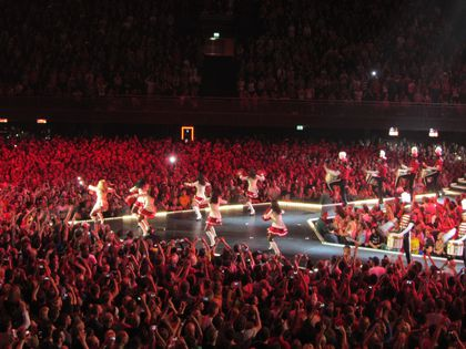 Madonna - MDNA Tour: Fans pictures from the show in Amsterdam, Netherlands - July 08, 2012
