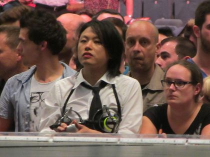 Madonna - MDNA Tour: Fan at the show in Cologne, Germany - July 10, 2012