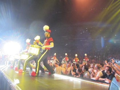 Madonna - MDNA Tour: Dancers at the show in Cologne, Germany - July 10, 2012