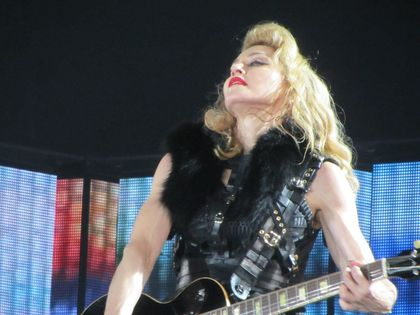 Madonna - MDNA Tour: Fans pictures from the show in Cologne, Germany - July 10, 2012
