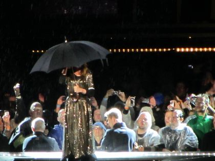 Madonna - MDNA Tour: Fans pictures from the show in Brussels, Belgium - July 12, 2012