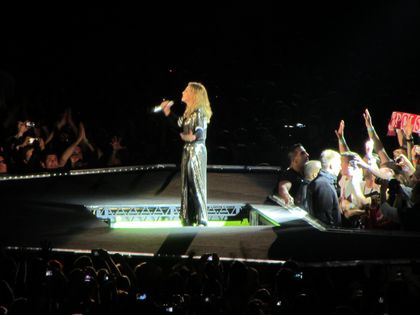 Madonna - MDNA Tour: Fans pictures from the show in Paris, France - July 14, 2012