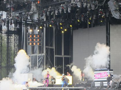 Madonna - MDNA Tour: LMFAO opens the show in London, UK - July 17, 2012