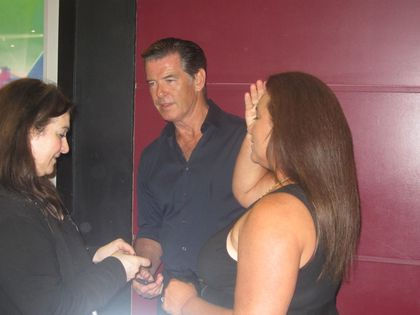 Madonna - MDNA Tour: Pierce Brosnan at L'Olympia in Paris