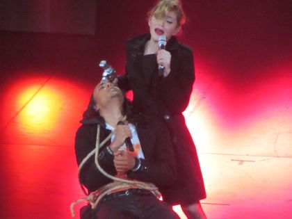 Madonna - MDNA Tour: Fans pictures from the show at L'Olympia in Paris