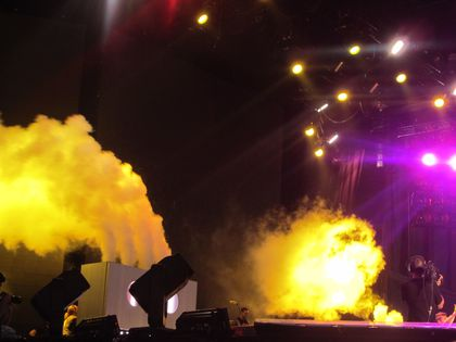 Madonna - MDNA Tour: LMFAO opens the show in Nice, France - August 21, 2012