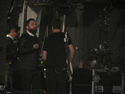Madonna - MDNA Tour: Monte Pittman at the show in Nice, France - August 21, 2012