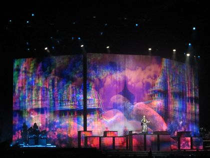 Madonna - MDNA Tour: Fans pictures from the show in Nice, France - August 21, 2012