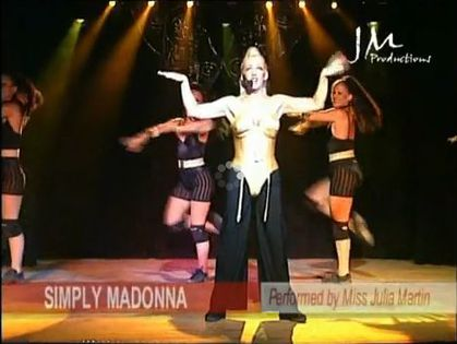 'Simply Madonna' at Hamptons on March 19, 2011