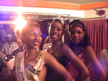 Miss Centrafrique Diapora France 2010