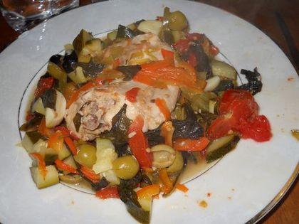 Rable lapin en estouffade ds assiette [500]