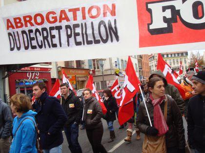 Rencontre peillon syndicat