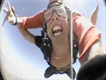 Frankie SkyDives for Madonna