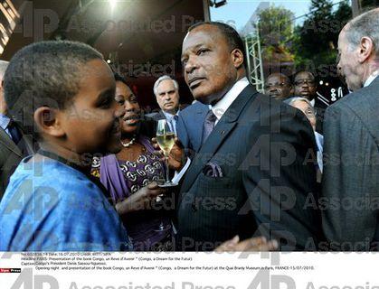 Sassou Chirac Toubon Congo un rêve d'espoir AP 1