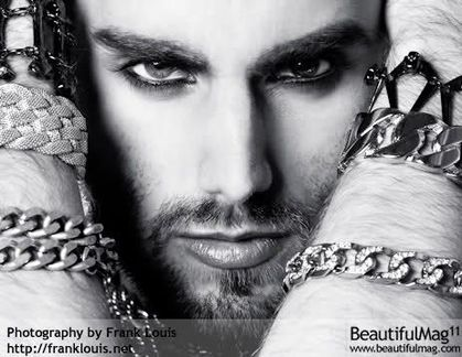 Photographer Frank Louis's homage to Madonna in ''Beautiful Mag''