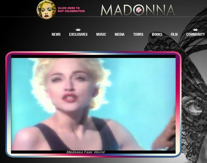 ''Express Yourself'' video opens Madonna's Official Website