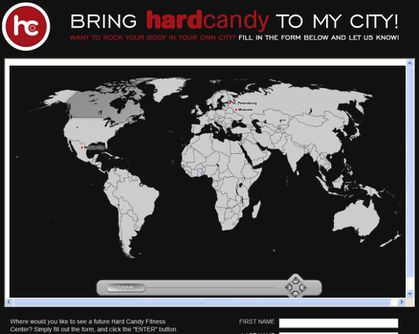 Bring Madonna's Hard Candy Fitness Center To YOUR City!